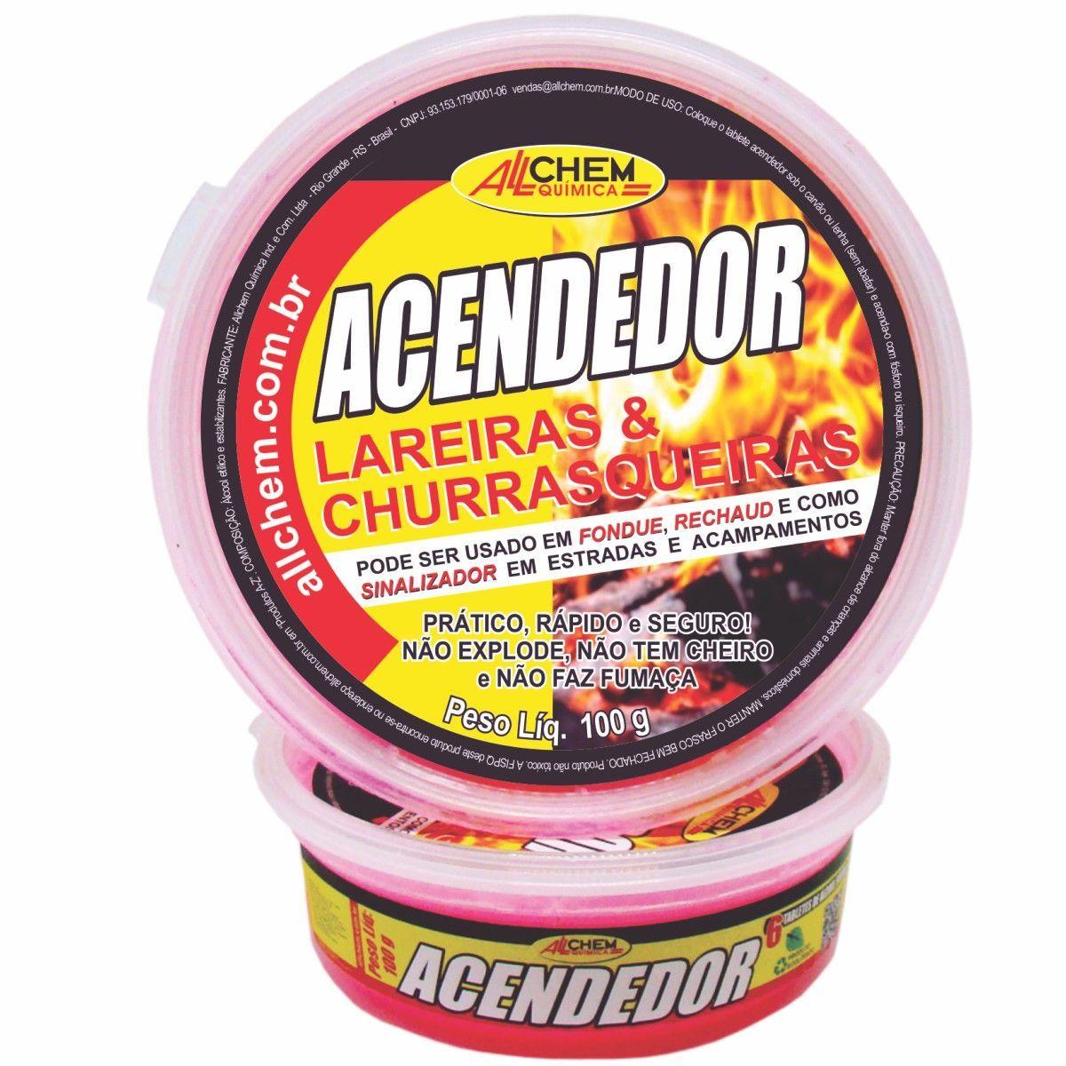 Acendedor de Lareiras e Churrasqueiras 12x100 g