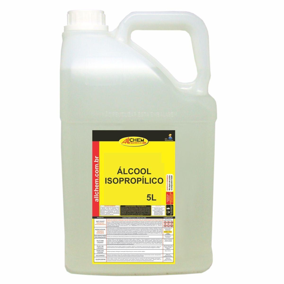 Alcool Isopropílico 2x5 Litros