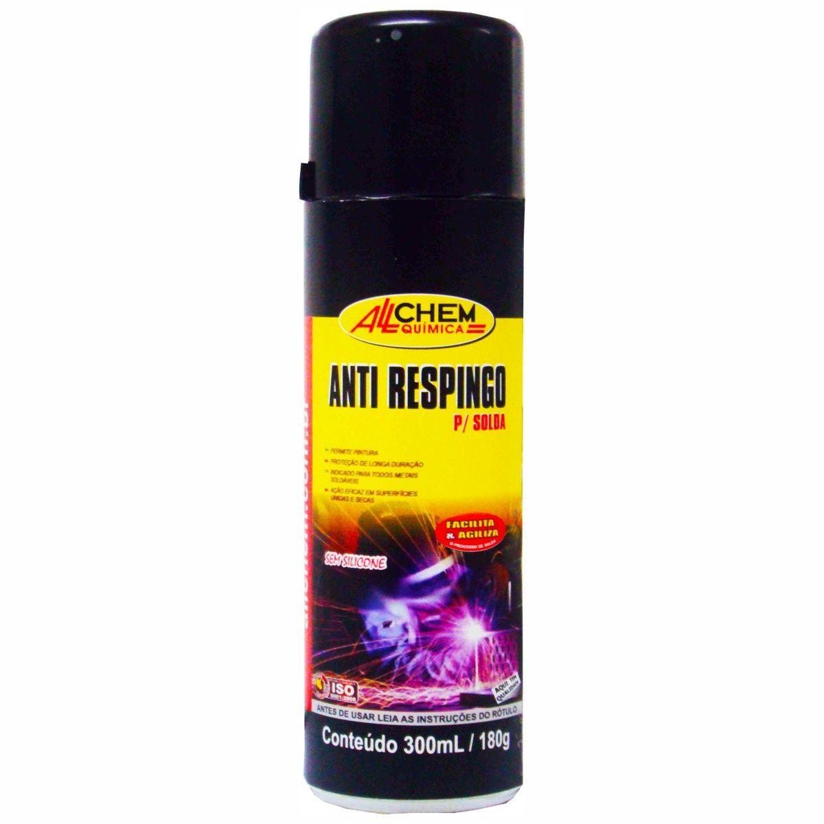 Anti Respingo p/ Solda Aerossol 12x300 mL