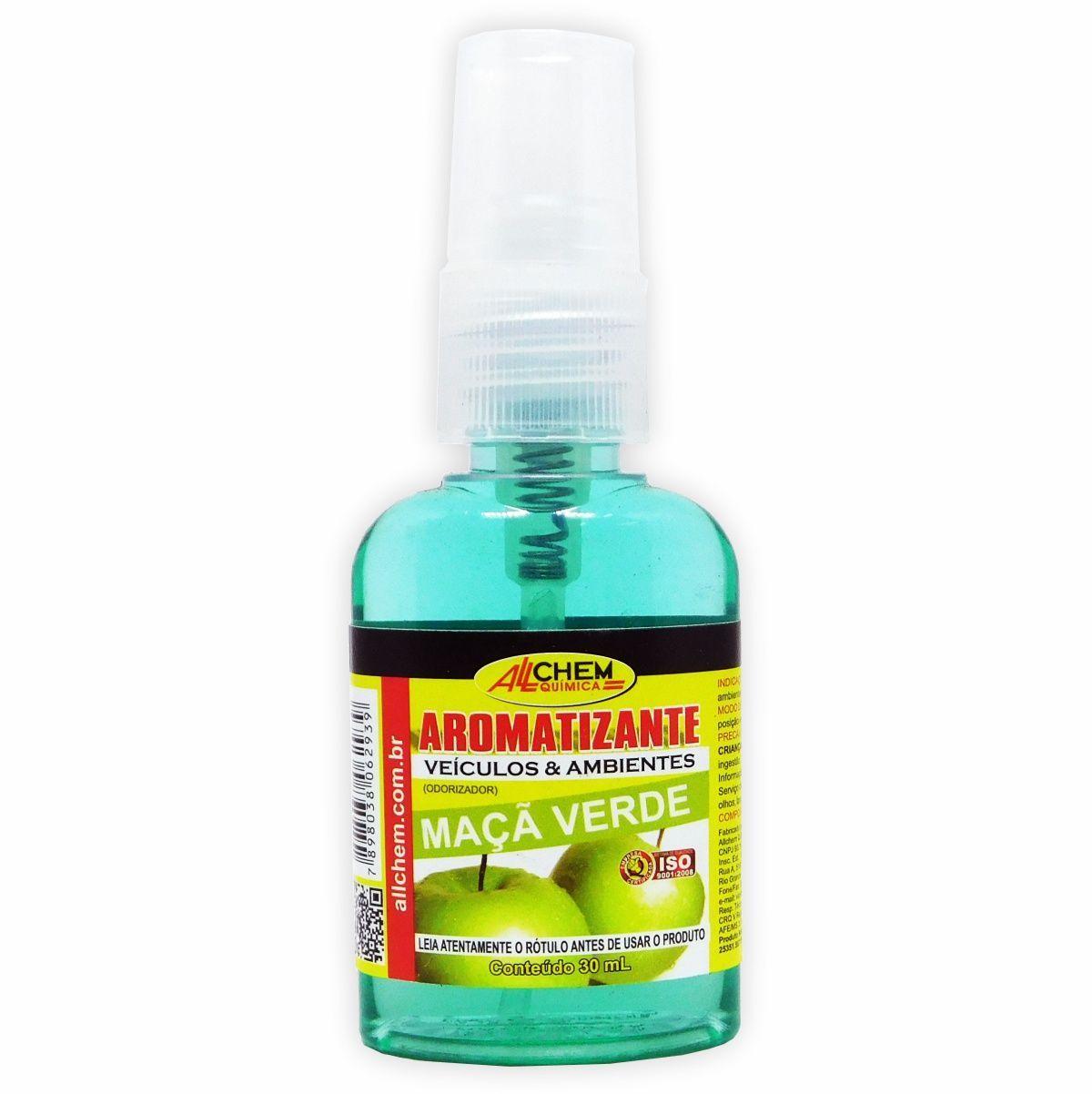 Aromatizante Spray Maça Verde 12x30 mL