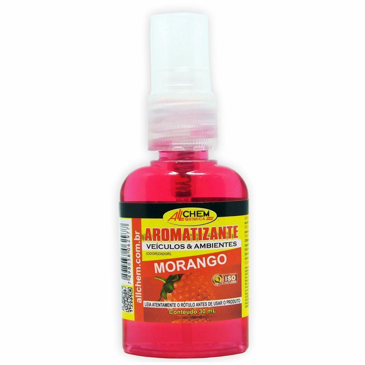 Aromatizante Spray Morango 12x30 mL