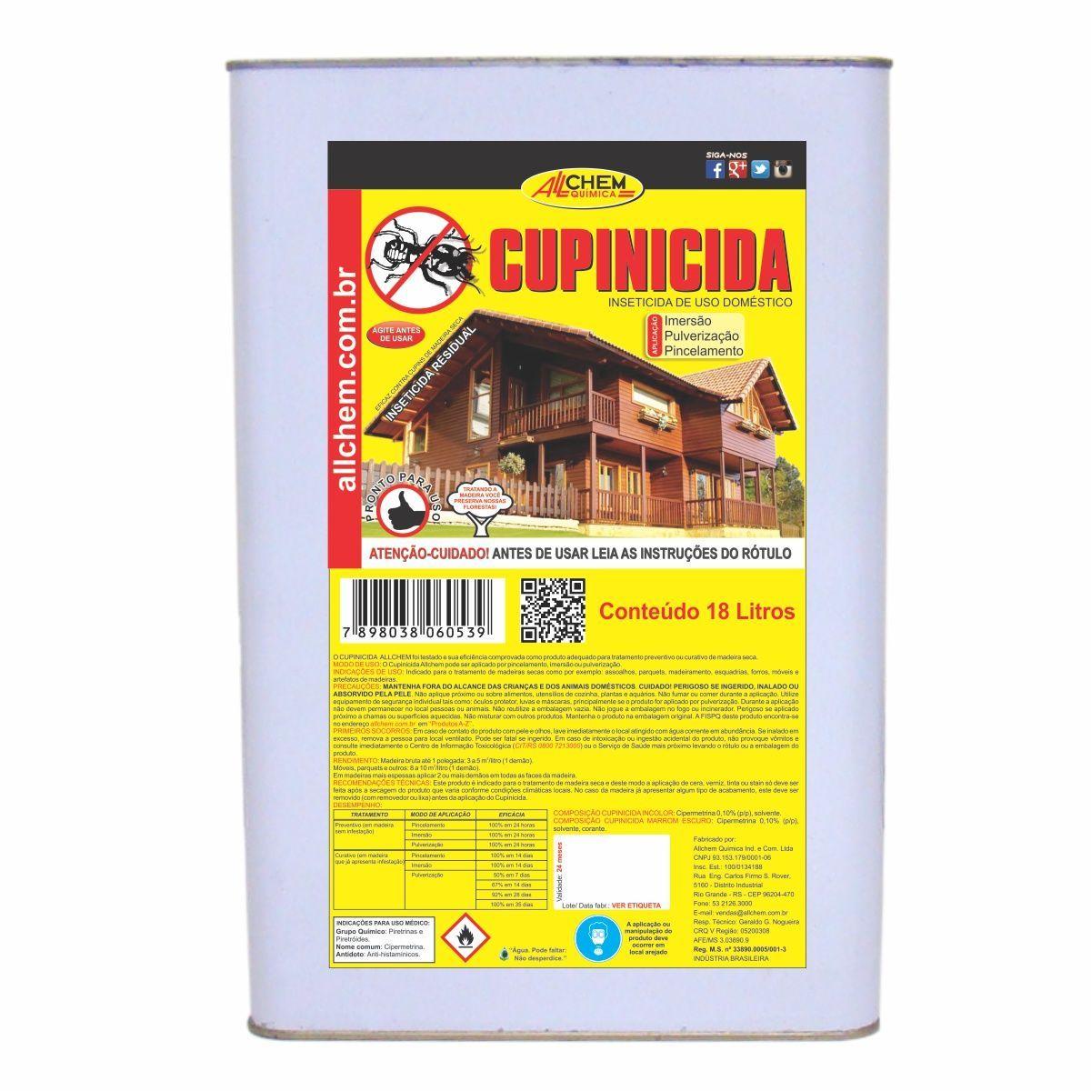 Cupinicida Incolor 18 Litros