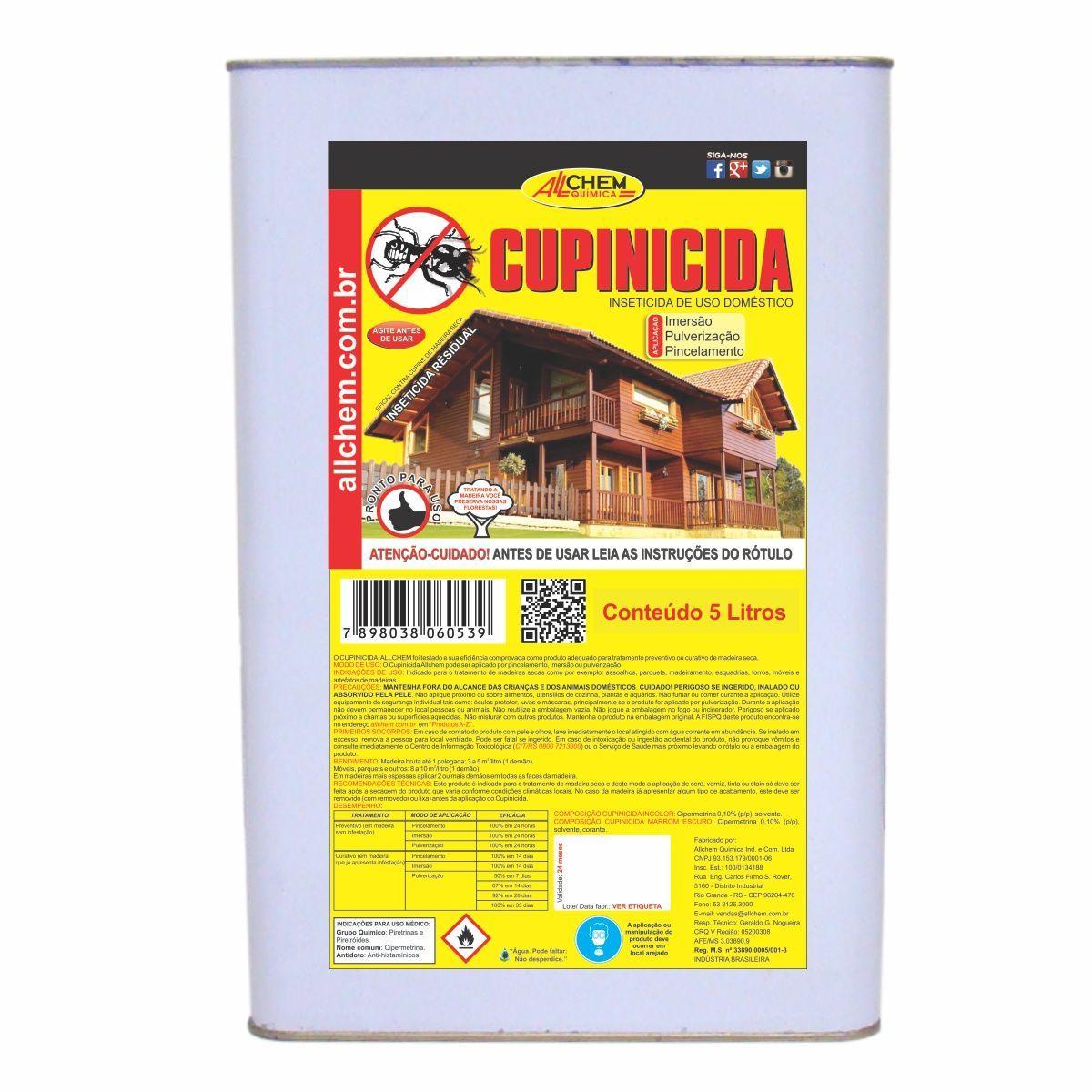 Cupinicida Incolor 2x5 Litros