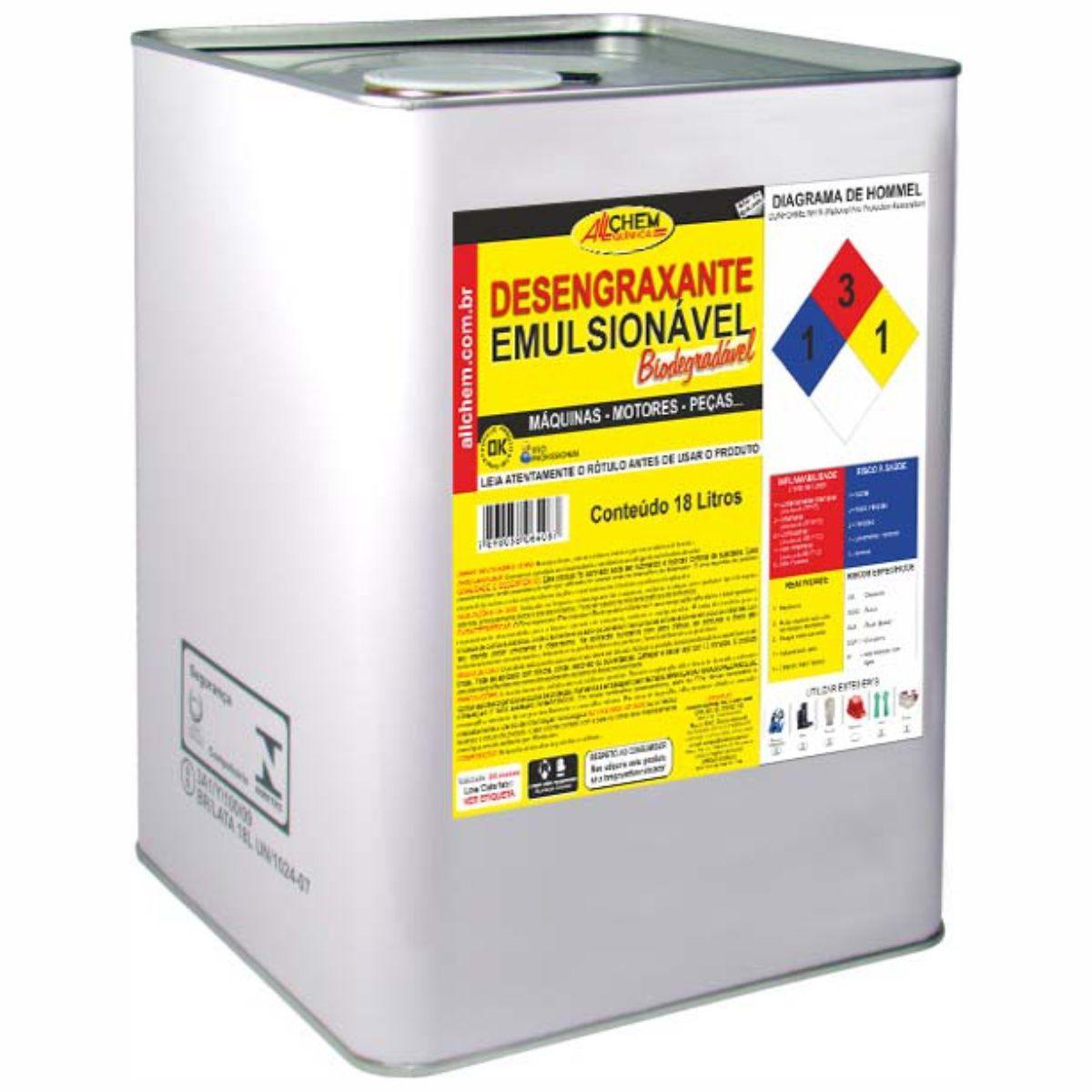 Desengraxante Emulsionável 18 Litros