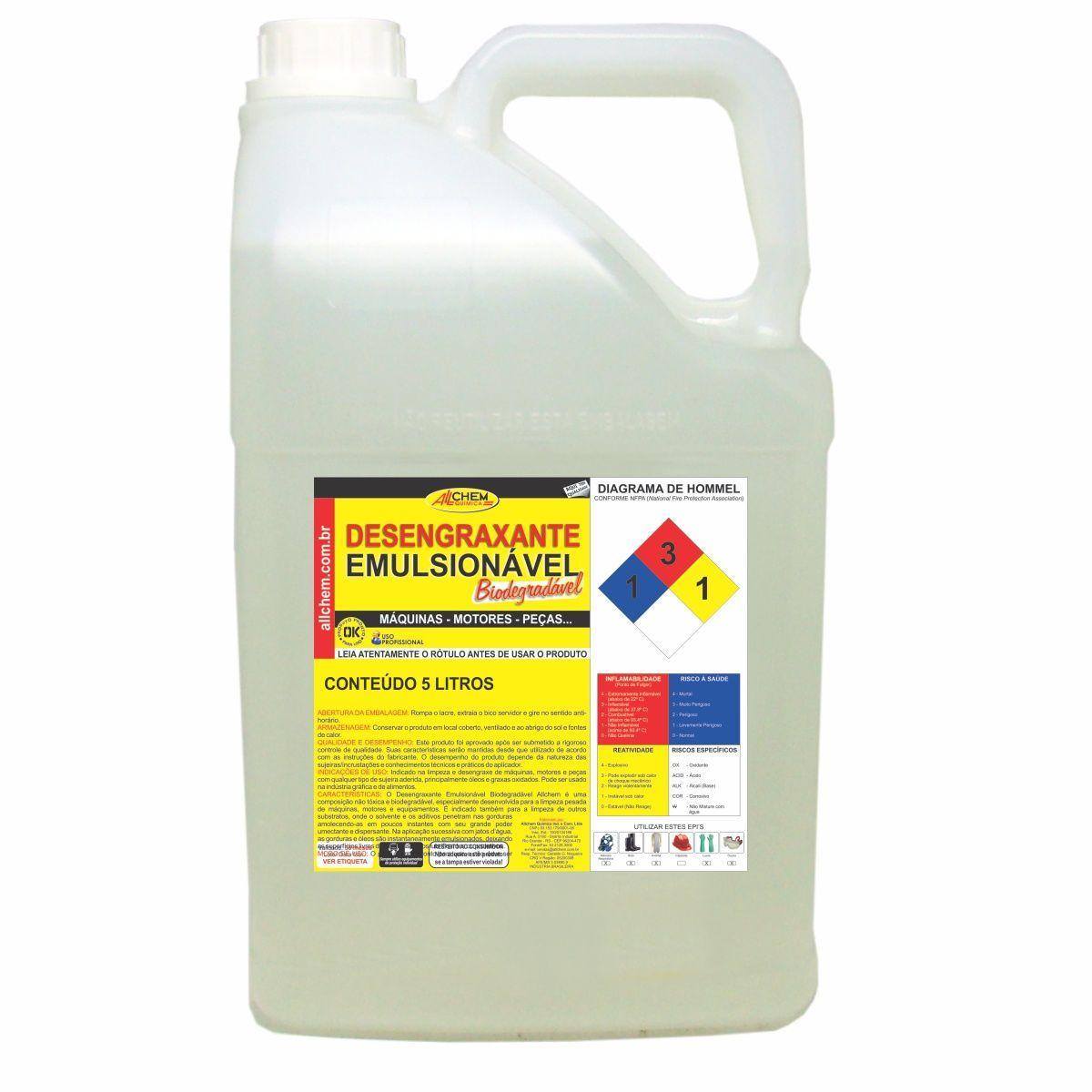 Desengraxante Emulsionável 2x5 Litros