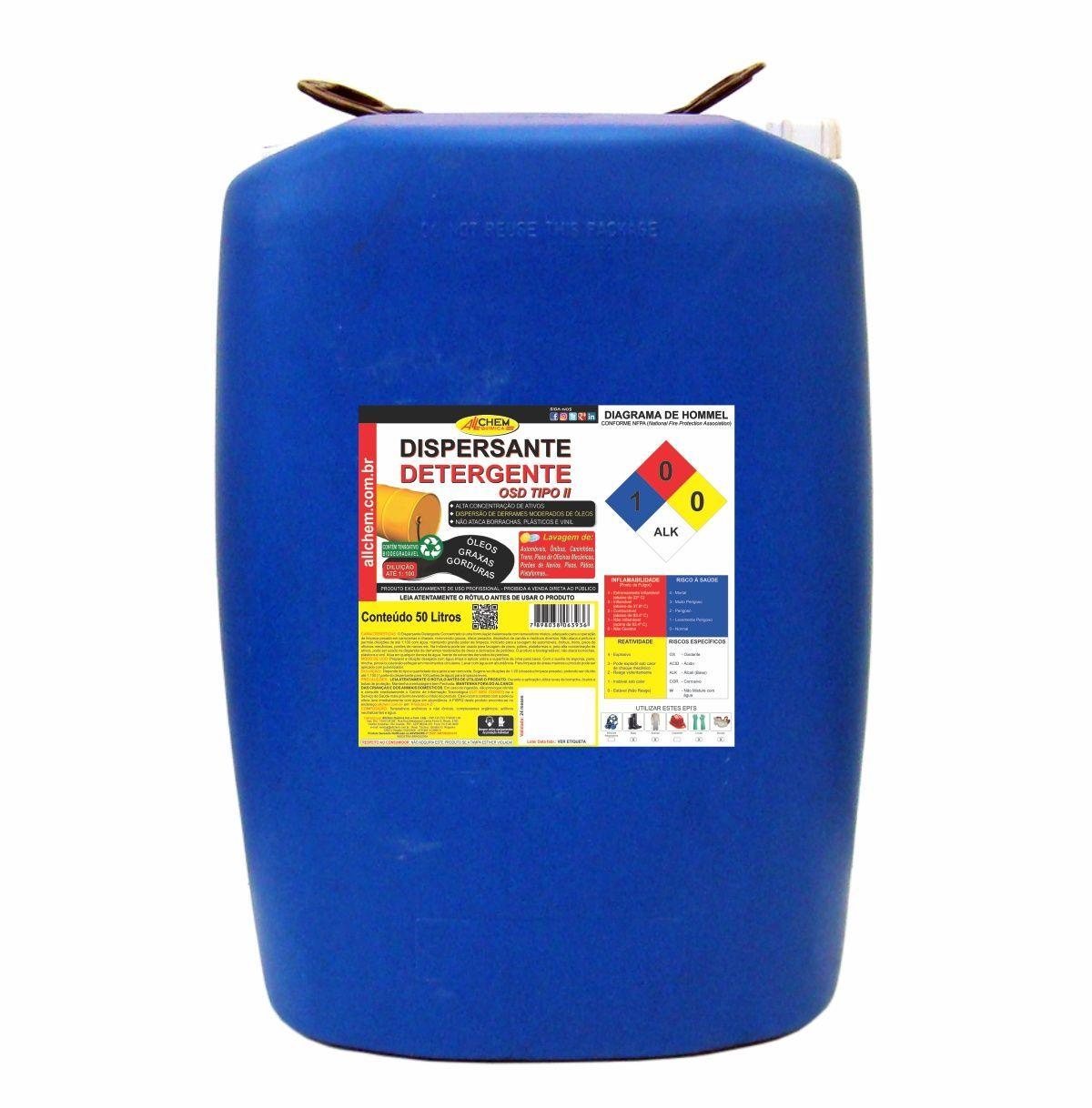Dispersante e Detergente 50 Litros