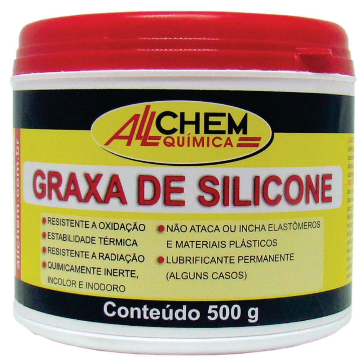 Graxa de Silicone 6x500 g