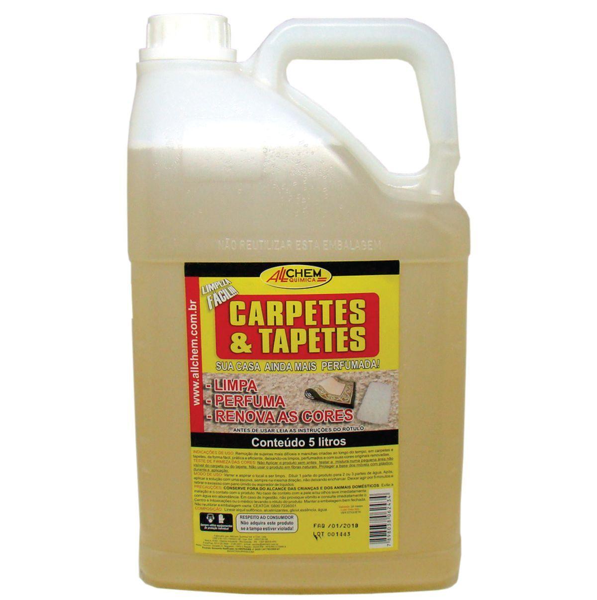 Limpa Carpetes e Tapetes 2x5 Litros