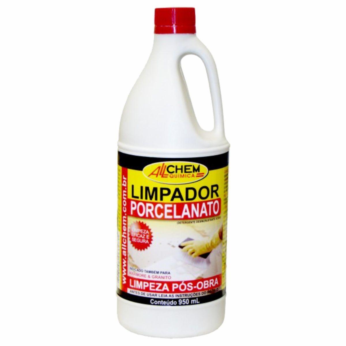 Limpador Porcelanato (Pós-obra) 12x950 mL