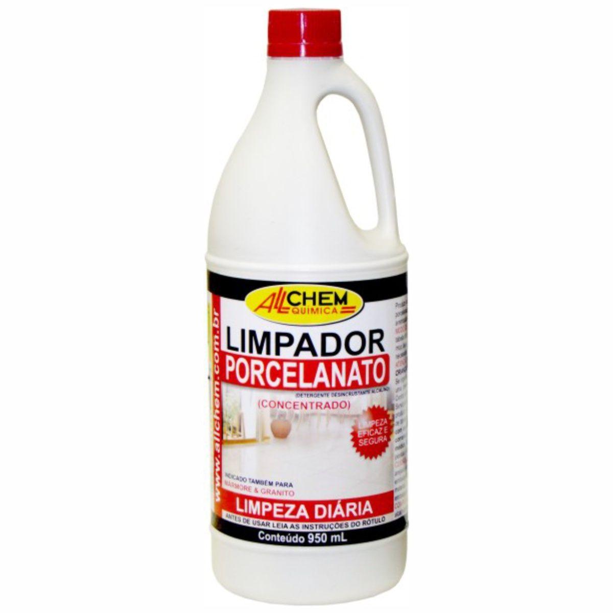 Limpador Porcelanato (Uso Diário) 12x950 mL