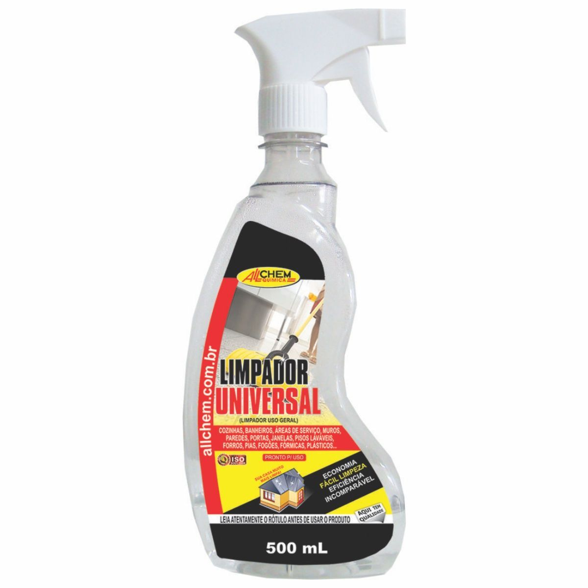 Limpador Universal Spray 6x500 mL
