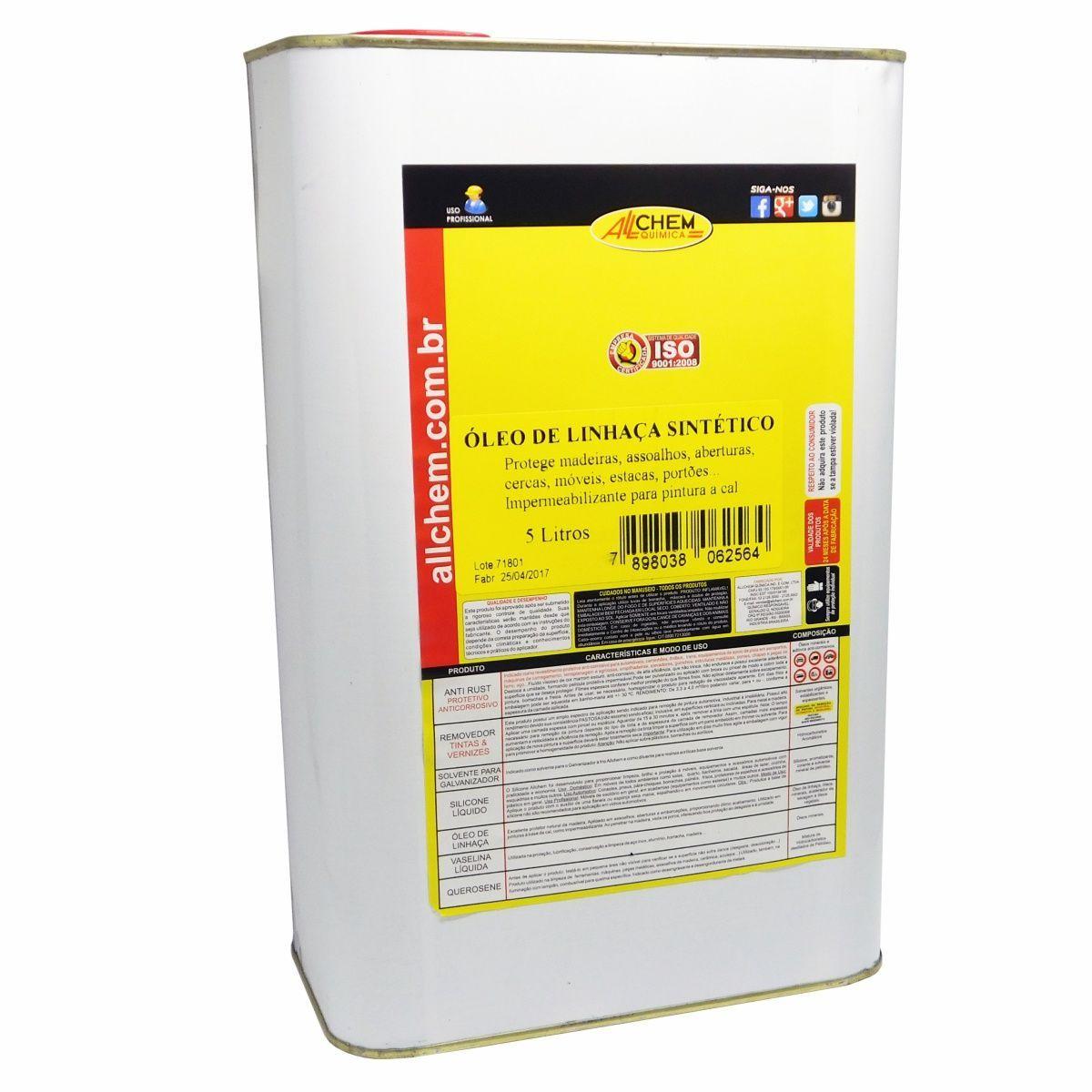 Oleo de Linhaça Sintético 2x5 Litros