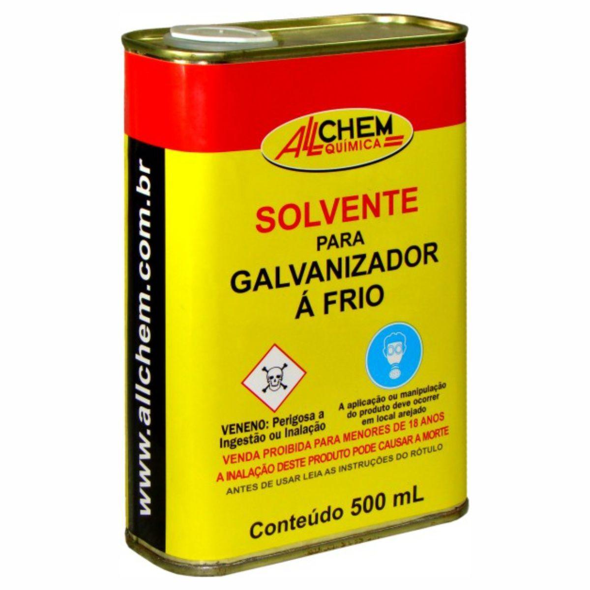 Solvente para Galvanizador a Frio 12x500 mL