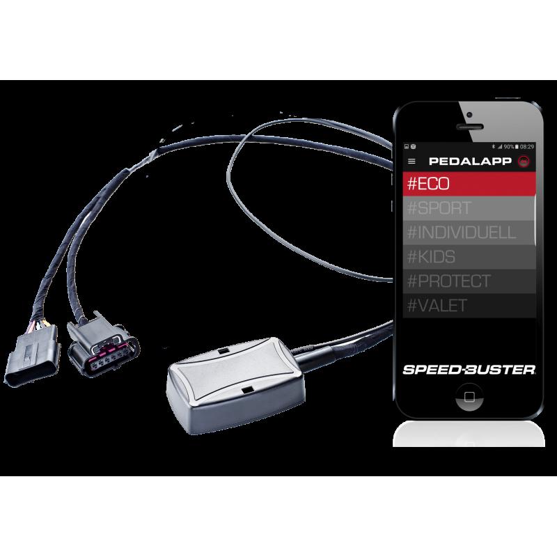 PedalBox Speed-Buster c/ App - Fiat