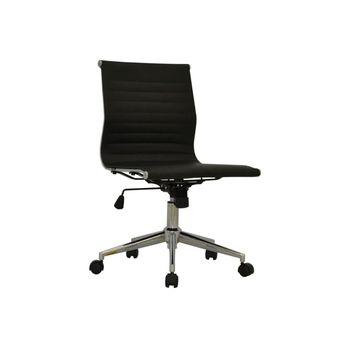 Cadeira de Escritório Eames Sevilha Rivatti Baixa sem braço PU