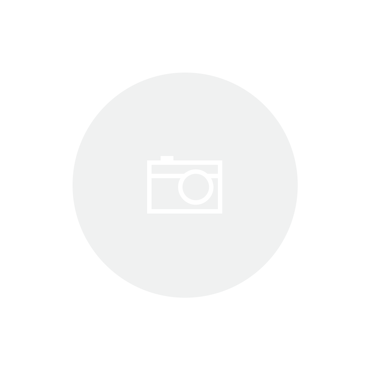 Bandeja Redonda c/ Alça Zamac Silver 37,5X31,5x4,5 cm