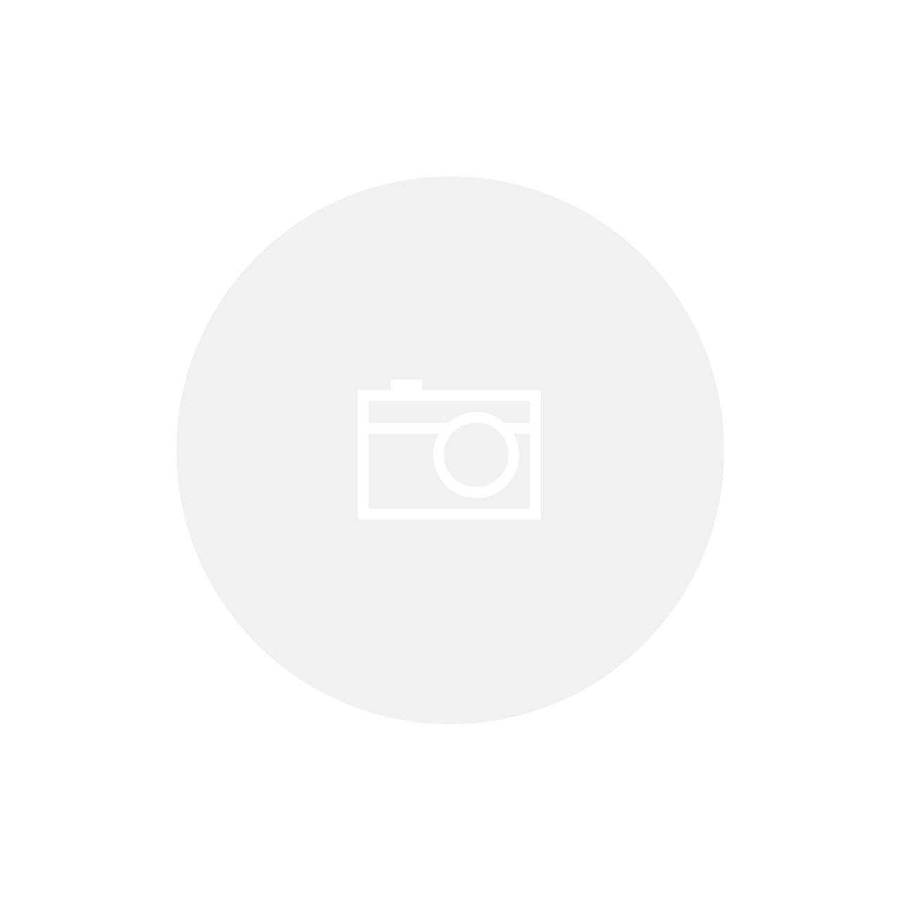 Castiçal 8cm Branco/dourado