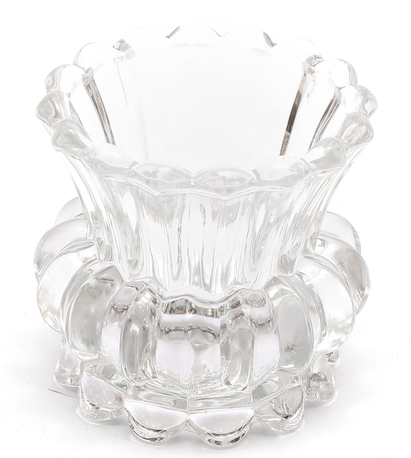 Castiçal de Vidro 8 x 8 cm