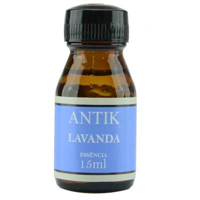Refil de Essencia Lavanda Vidro 15Ml Antik