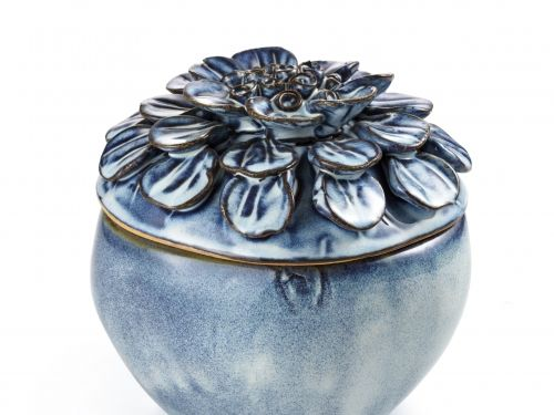 Pote Flor Azul