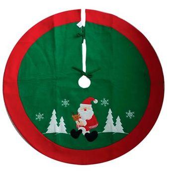 Saia de Árvore Papai Noel 90 cm