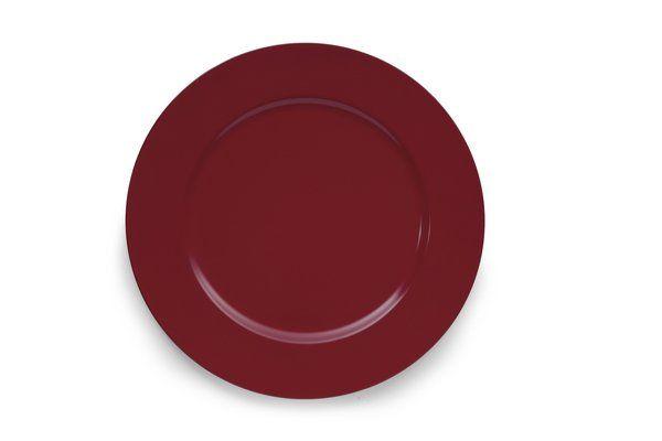 Sousplat Vermelho 33Cm