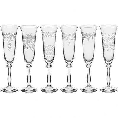 Conjunto Taça Champagne 190 ml