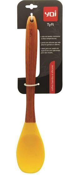 Tyft Colher Bambu_Silic. am.g 30X5.5cm