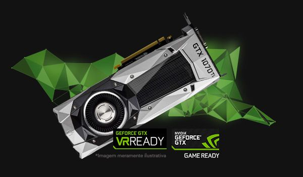 GEFORCE GTX 1070 TI : A PERFEIÇÃO NOS GAMES