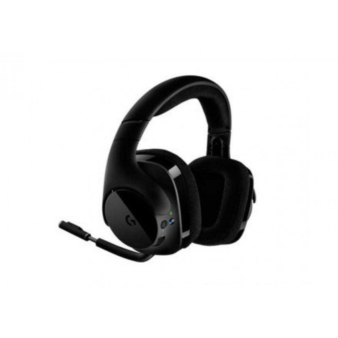 HEADSET LOGITECH G533 7.1 WIRELESS PRETO, 981-000633