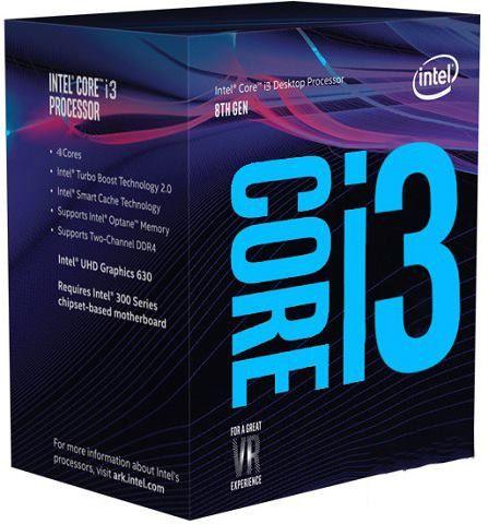 (LGA 1151) INTEL CORE I3 8100 3.6GHz 6MB CACHE