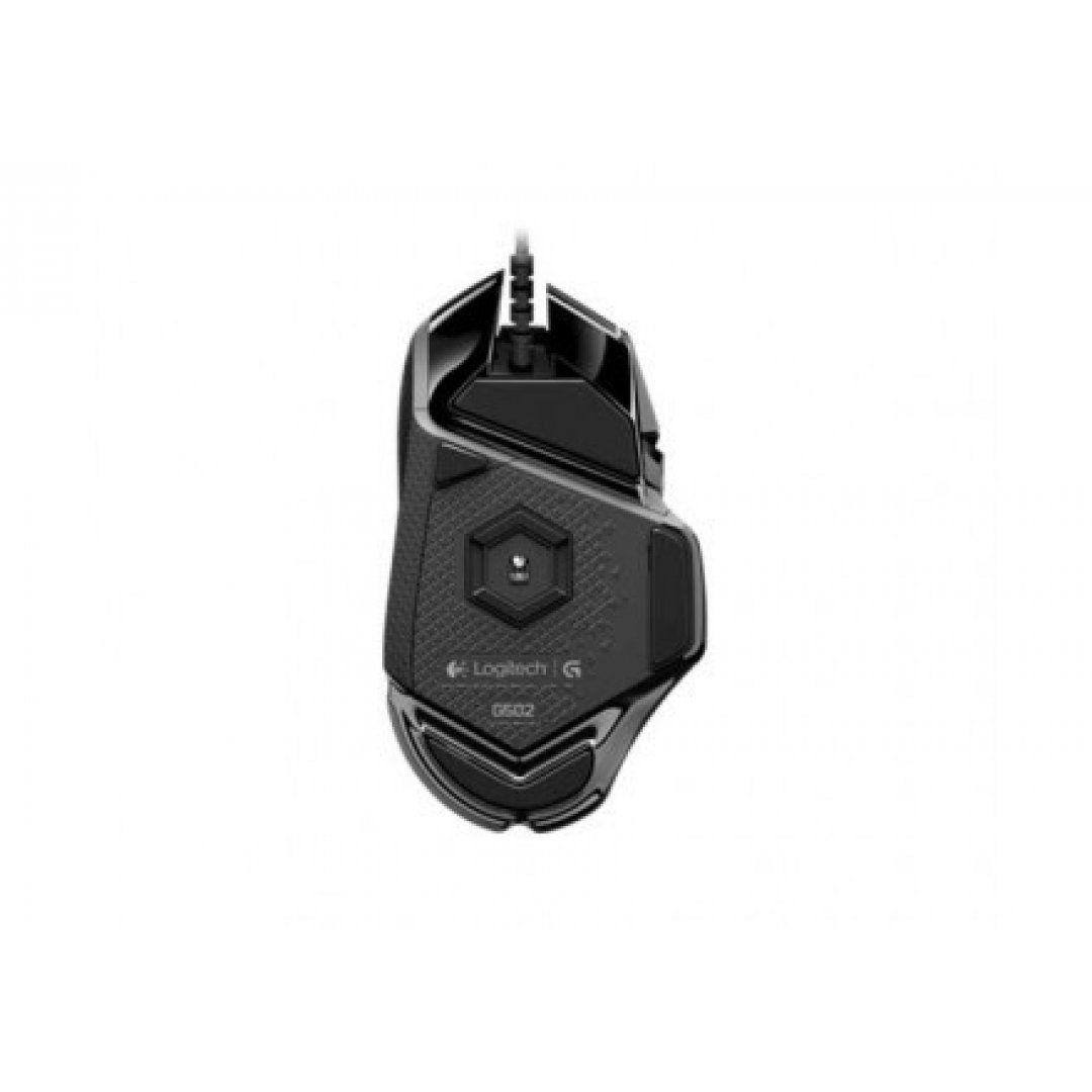 MOUSE GAMER LOGITECH G502 PROTEUS SPECTRUM LED RGB USB PRETO, 910-004616