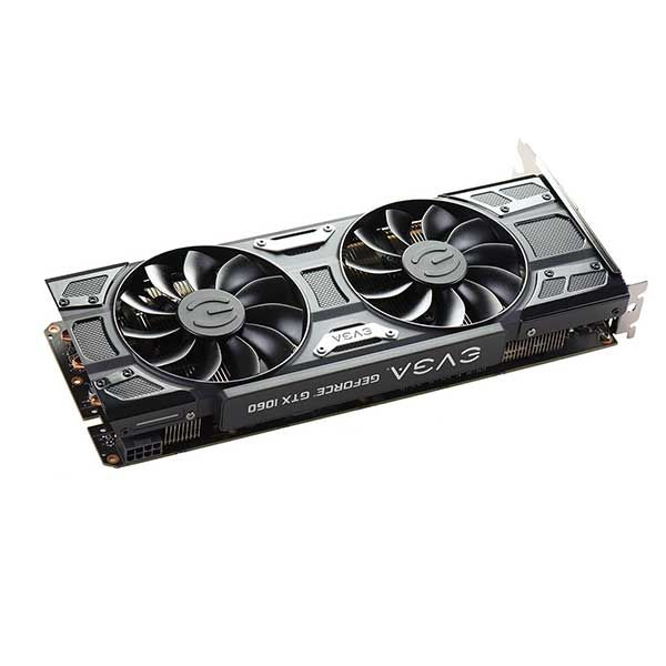PLACA DE VIDEO EVGA GTX 1060 GAMING 6G ACX3.0 GDDR5, 06G-P4-6262-KR