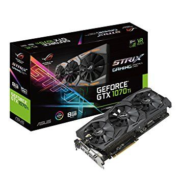PLACA DE VIDEO ROG STRIX GTX1070TI-8G GAMING