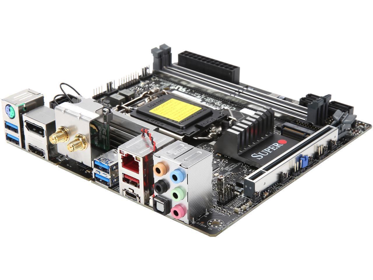 PLACA MAE Z370 MINI-ITX - INTEL 8A. GER (1151) - DDR4 - MBD-C7Z370-CG-IW-O