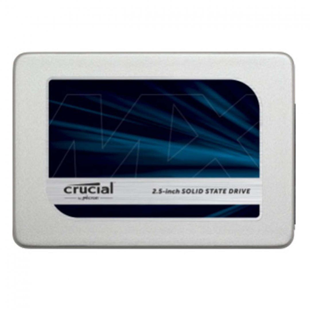 SSD Crucial 2.5´ 1TB SATA III 6Gb/s Leituras: 530MB/s e Gravações: 510MB/s - CT1050MX300SSD1