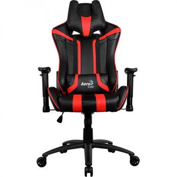 Cadeira Gamer Aerocool AC120C Preta/Vermelha - EN59657