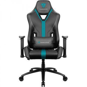 Cadeira Gamer ThunderX3 YC3 Preta/Azul