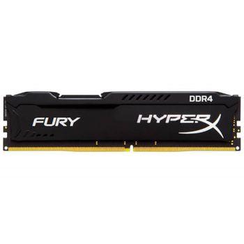 Memória DDR4 8GB 2400 Kingston HyperX Fury Black