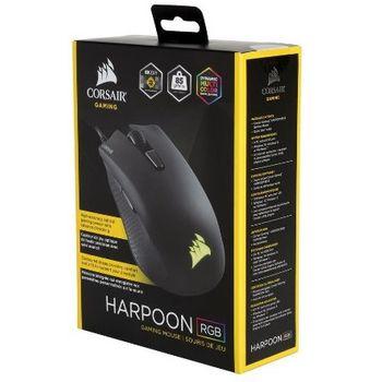 Mouse Gamer USB Corsair Harpoon RGB 6000DPI