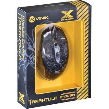 Mouse USB Vinik VX Tarantula Gamer 2400DPI