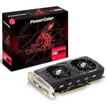 Placa de Vídeo 2GB Radeon RX 560 Power Color Red Dragon