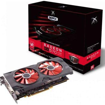 Placa de Video 8GB Radeon RX 570 XFX GDDR5 - RX-570P8DFD6