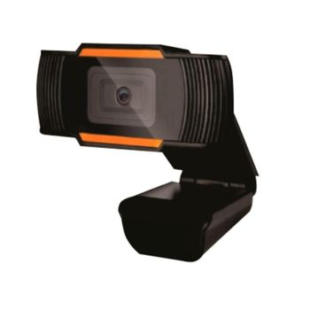 Webcam Brazil PC V5 HD 720P Preto/Laranja
