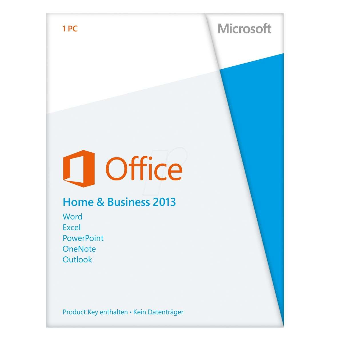 Microsoft Office Home & Business FPP 2013 32/64Bits Lic.