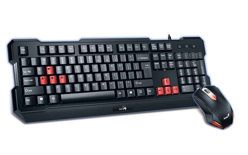 Kit Teclado e Mouse Genius Gamer KMH-200