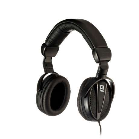 Headphone C3 Tech com Microfone Gamer Barion MI-2883RB Preto