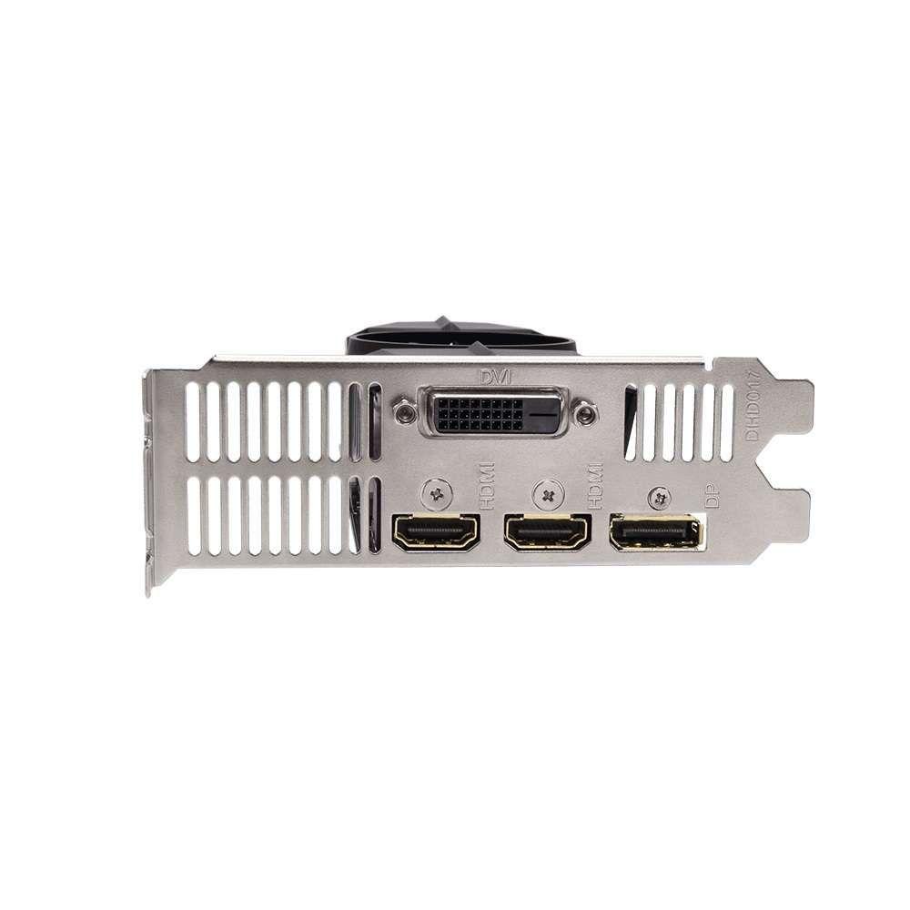 Placa de Vídeo Gigabyte Geforce GTX 1050 2GB OC Low Profile GDDR5 128Btis - GV-N1050OC-2GL