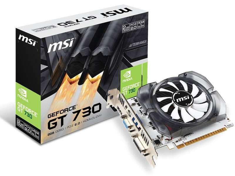 Placa de Vídeo MSI GT 730 2GB DDR3 128Bits  - 912-V809-2261