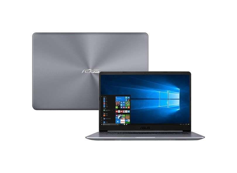 Notebook Asus Vivobook X510UA-BR484T Intel Core i5 8GB 1TB Tela Nano Edge 15,6